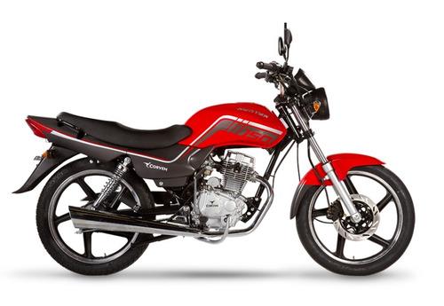 corven hunter 150 0km rojo full 150cc nacked 999 motos