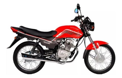 corven hunter 150 base 18 cuotas de $6457 oeste motos