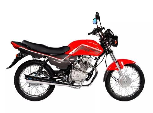 corven hunter 150 econo - ent.inmediata- global motorcycles