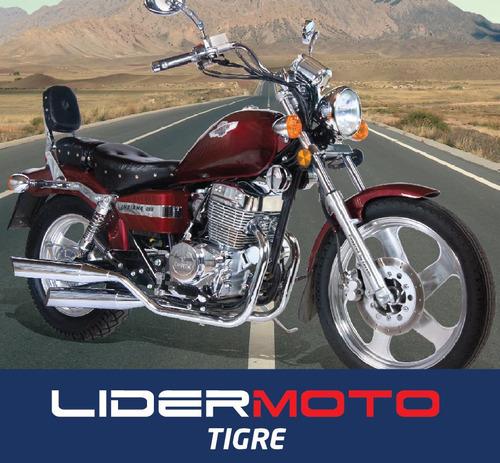 corven indiana 256  - lidermoto - tigre
