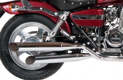 corven indiana 256 moto chopper