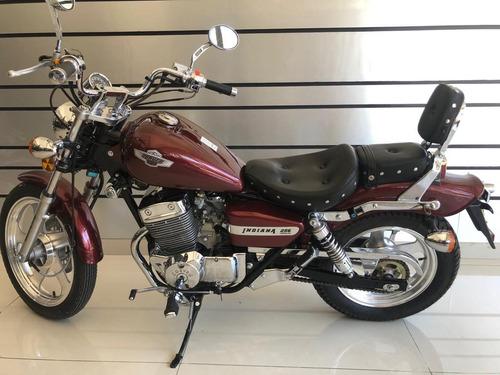 corven indiana chopper 256 motos