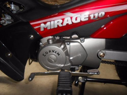 corven mirage 110 r2 base 0km - tamburrino motos