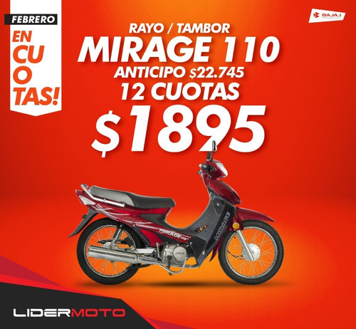 corven mirage 110 r2 base - lidermoto  delivery