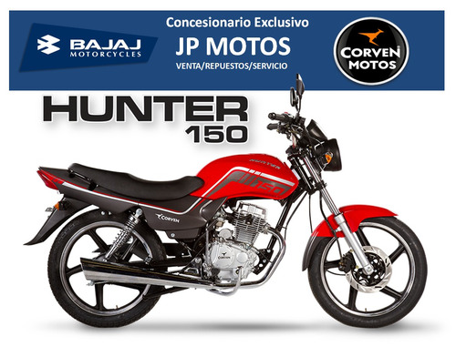 corven new hunter 150 full! jp motos el camino a tu moto!