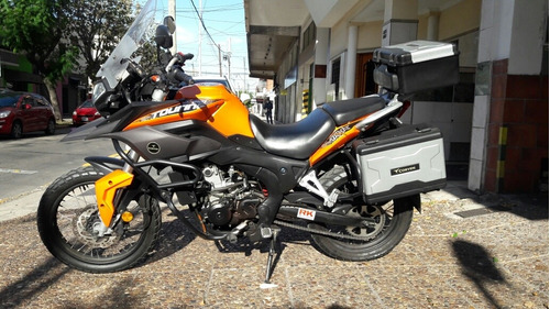 corven touring 250 2017 20000 km impecable!!!