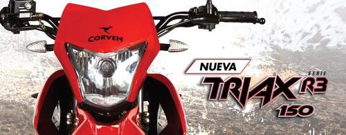 corven triax 150 r3 - 0 km - bonetto motos - no skua ni xr