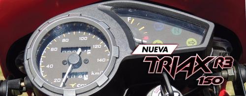 corven triax 150 r3 0km credito solo con dni