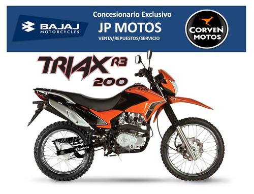 corven triax 200 r3! concesionario exclusivo!