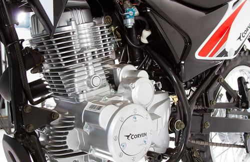 corven, triax 200cc motozuni burzaco