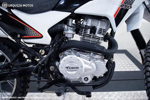 corven triax 250 enduro motos