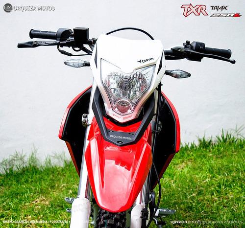 corven triax 250 motos moto