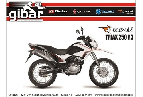 corven triax 250 r3 gibar motos