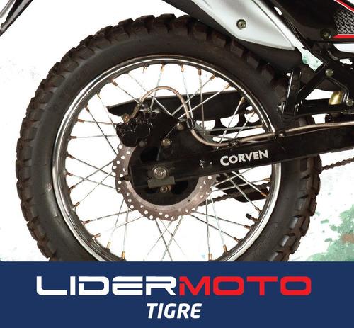 corven triax 250 r3 - lidermoto - tigre