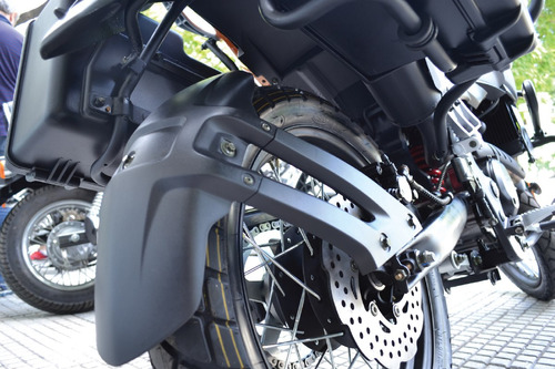 corven triax 250 touring - rojo - blanco - san justo