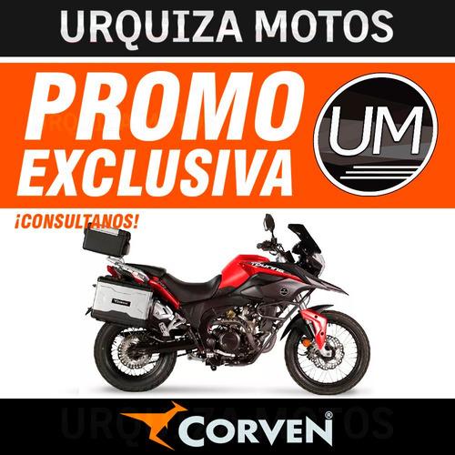 corven triax 250 touring valijas 12v usb 0km modelo nuevo