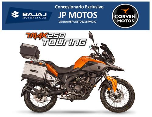 corven triax touring 250! líder en zona oeste! jp motos!