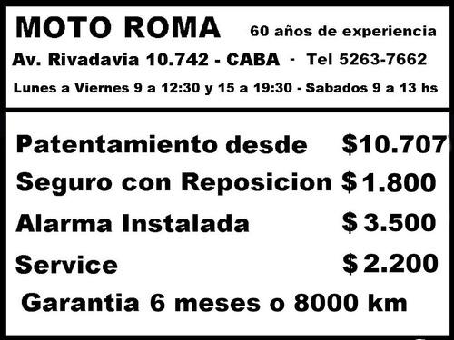corven txr 250 l  18ctas$9273 mroma (tipo triax 150 200 250