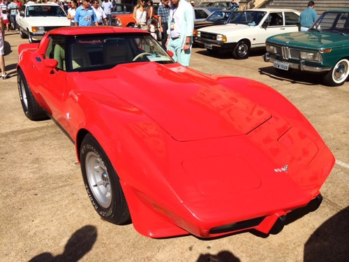 corvette 1979 | placa preta