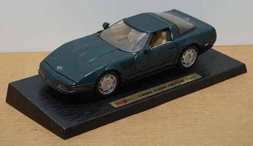 corvette 1996.coupe 1/18 ed especial. espectacular!!!