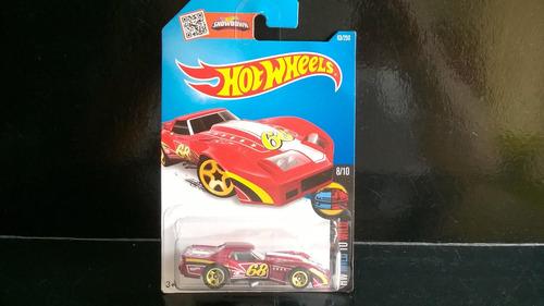 corvette greenwood 76 hotwheels diecast coleccion