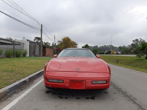 corvette  v8 5.7 targa. manual