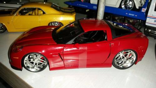 corvette z06 2006  colección jada  escala 1/24 prec 25 vdes