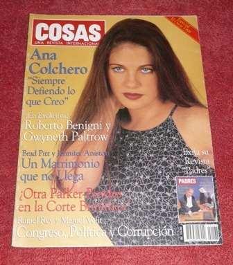 cosas ana colchero marzo 1999 mónica lewinsky brad pitt