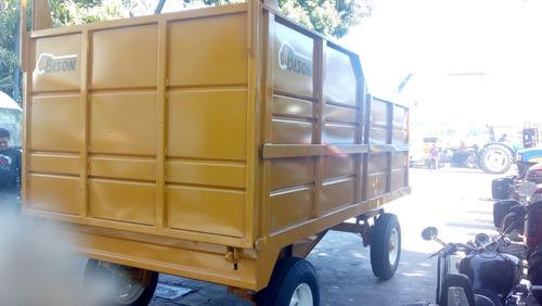 cosechador remolque bison para forraje 4 toneladas nuevo