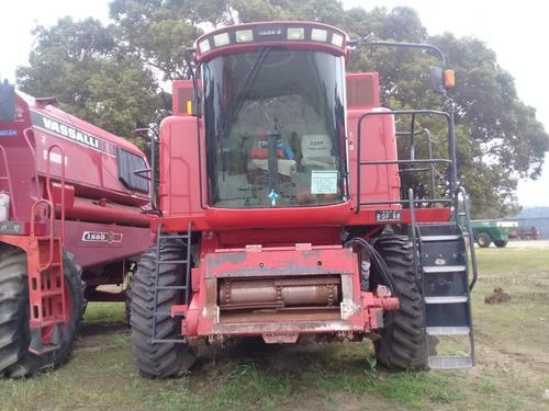 cosechadora case 2399, 35 pies, 4795hs, c/duales, 2008