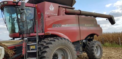 cosechadora case ih 8120 4x4 año 2010
