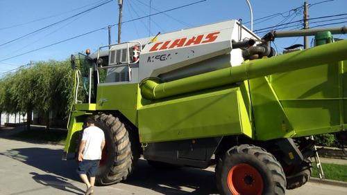 cosechadora claas mega 350-año 2008 primera mano poco uso