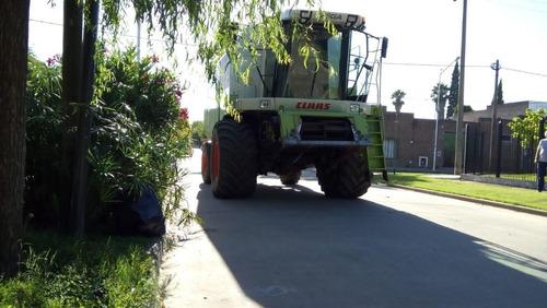 cosechadora claas mega 350- primera mano