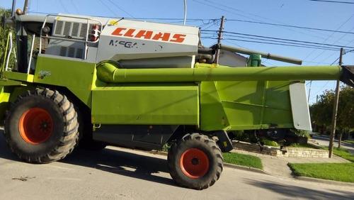 cosechadora claas mega 350- primera mano poco uso
