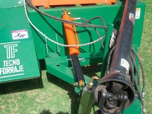cosechadora de forraje  tecnoforraje  ideal pastoreo mecanic