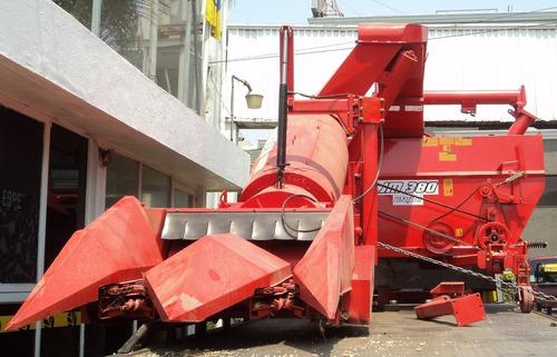 cosechadora de maíz de dos surcos jumil, jm 380 nueva