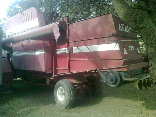 cosechadora de soja trigo araus 530 modelo 1990