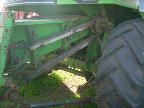 cosechadora deutz maxima año 1996 motor deutz 190 plat. 23 p