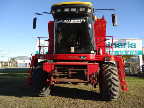 cosechadora don roque 125 de 23 pies. motor perkins 190 hp.