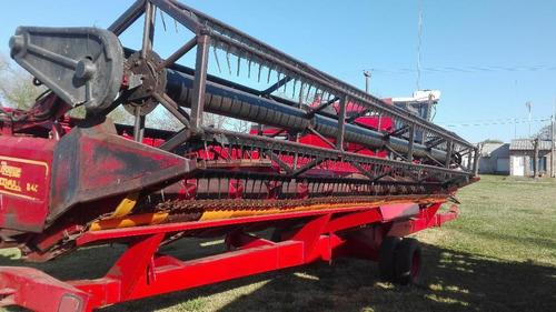 cosechadora don roque rv-150 año 2003, c/plataforma 28 pies.