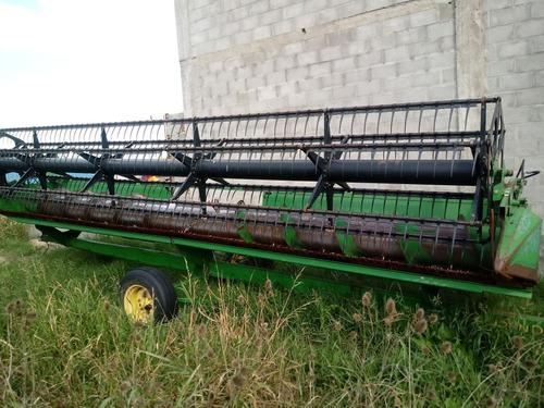cosechadora john deere 1550 c/25