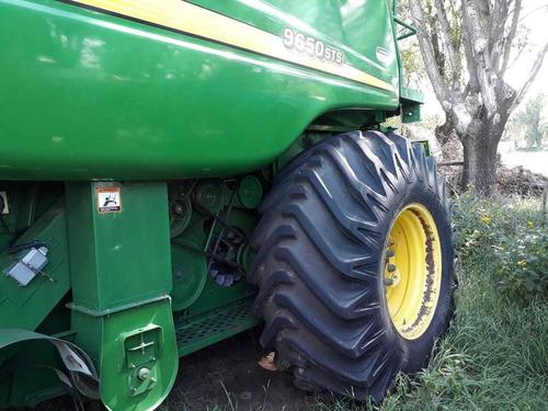cosechadora john deere 9650, 30p, motor con 2000hs, 2001