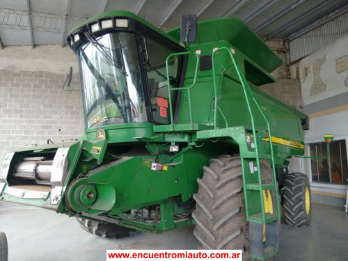 cosechadora john deere 9750    permuto financio agro-maq