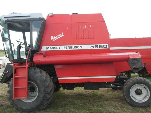 cosechadora massey ferguson 5650 advanced.  impecable .