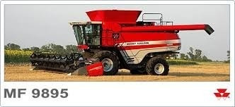 cosechadora massey ferguson mf 6690 financiada