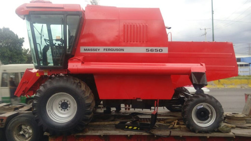 cosechadora massey ferguson modelo advanced 5650 2012