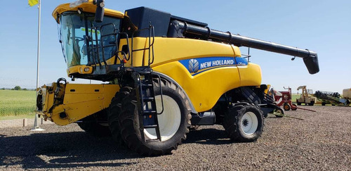 cosechadora new holand cr 9080, año 2012