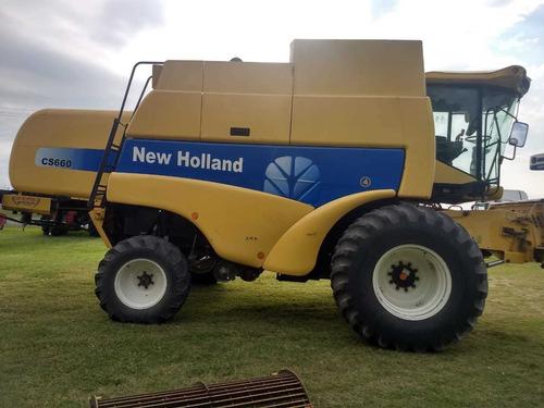 cosechadora new holland cs660 - año 2005