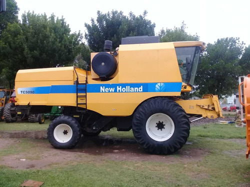cosechadora new holland tc 5090