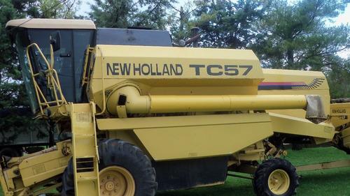 cosechadora newholland tc 57 1996